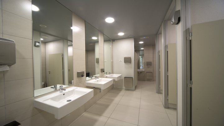 image of Philips UV-C luminaires for Washrooms
