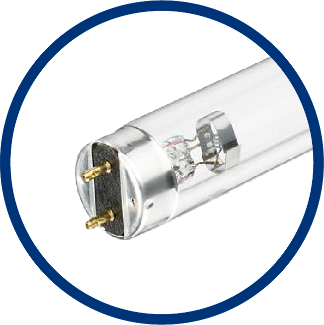 Image of UV-C disinfection lamp